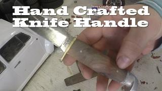 Hand Crafted Cedar Handle for my Western W39 Knife