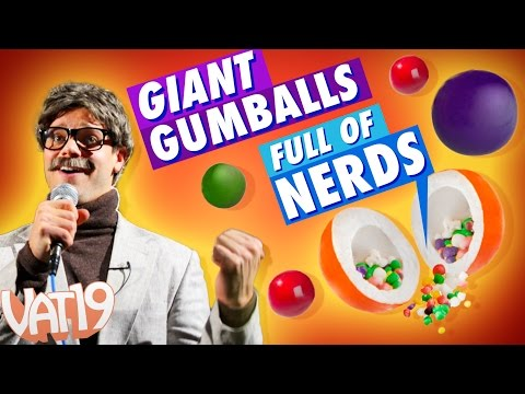 Confection Perfection | Giant Nerd Gumballs