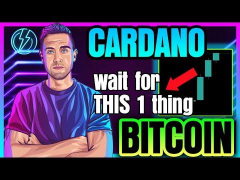 Bitcoin Price SHOCKS Bears. CARDANO Setting Up EPIC MOVE!