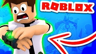 BECOMING EVIL BEN 10 IN ROBLOX (BEN 10 ARRIVAL OF ALIENS: EVIL BEN 10)