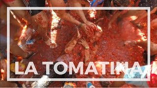 WORLD'S LARGEST TOMATO FIGHT | La Tomatina 2016