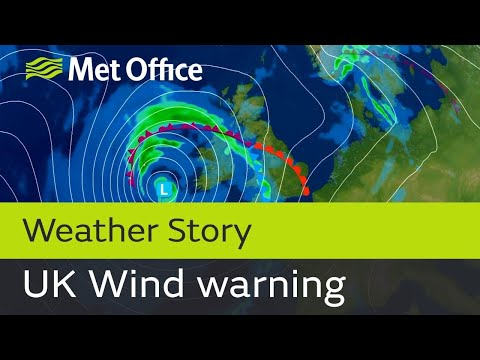 Wind warnings for the UK this weekend