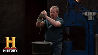 Forged in Fire: Spring Steel Knives Tested (Season 5, Episode 13) | History