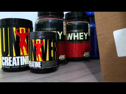 Unboxing Vitacost - Whey Protein ON