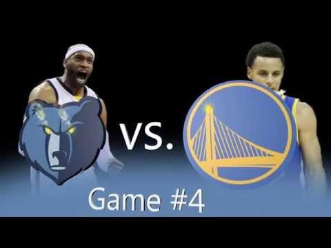 Warriors - Grizzlies Game 4 Intro (HIRE ME ESPN!)