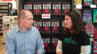 interview with Christopher Farnsworth, author of Blood Oath