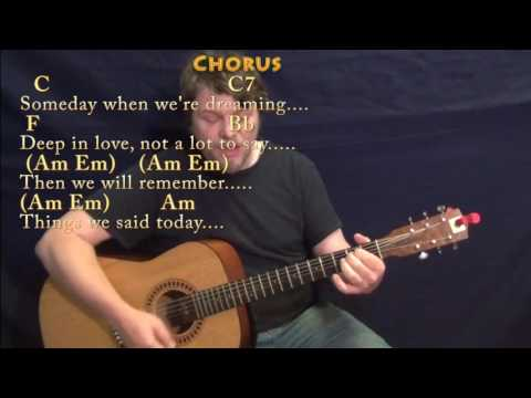 Things We Said Today (The Beatles) Strum Guitar Cover Lesson with Chords/Lyrics