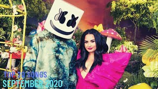 Top 20 Songs: September 2020 (09/26/2020) I Best Billboard Music Chart Hits