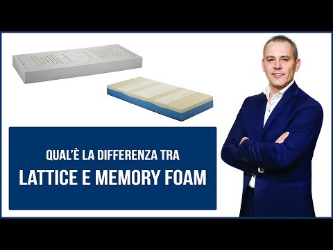Materassi In Memory Foam Pro E Contro.Differenze Tra Lattice E Memory Youtube