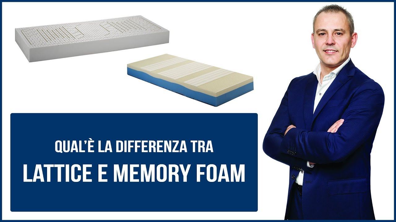 Meglio Materasso Lattice O Memory.Differenze Tra Lattice E Memory Youtube