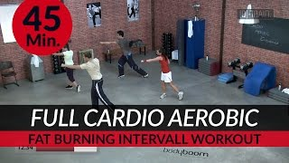 FULL Cardio Aerobic Ausdauer Workout I 45. Min. I Fat Burning