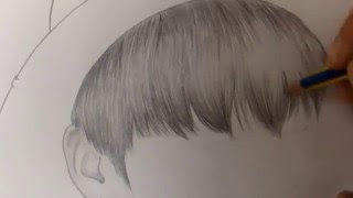 방탄소년단 BTS - 정국 jungkook speed drawing
