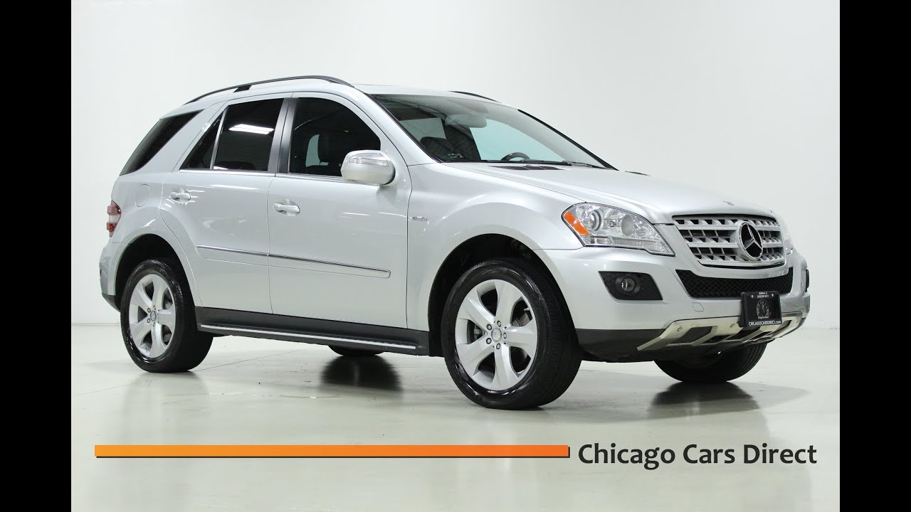 Chicago cars direct presents a 2010 mercedes benz ml350 for Mercedes benz bluetec diesel