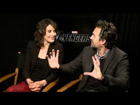 Rad's Uncut Interview with Cobie Smulders and Mark Ruffalo (The Avengers)