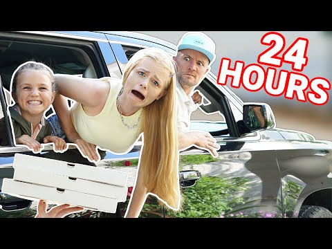 24 HOUR OVERNIGHT in CAR CHALLENGE in MEXICO!!!