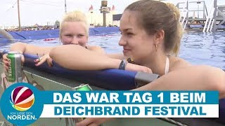 Tag 1 beim Deichbrand Festival in Cuxhaven