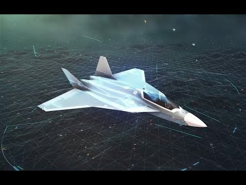 Future Combat Air System - FCAS, manned and unmanned european system by Airbus & Dassault  #ILA2018