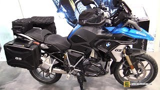 2019 BMW R1250 GS Wunderlich Accessorized - Walkaround - 2018 EICMA Milan