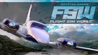 Flight Sim World - Announcement Trailer