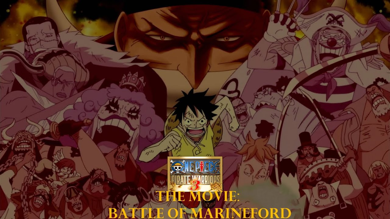 One Piece: Pirate Warriors 3 [Movie][The Battle on MarineFord][1080p 60 fps]