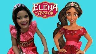 Disney Princess Elena of Avalor Kids Makeup and Dress Up