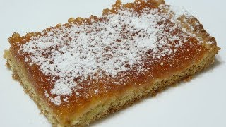 Простой и очень вкусный пирог с повидлом к чаю. Порадуйте своих близких и гостей!