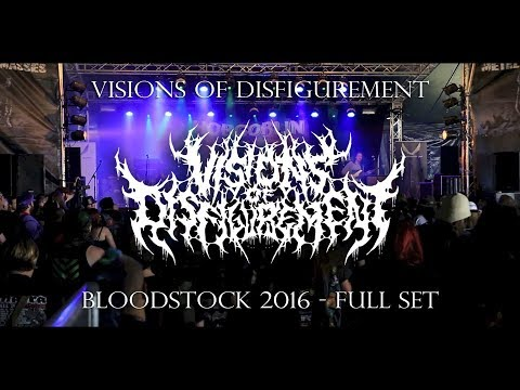 VISIONS OF DISFIGUREMENT - FULL SET LIVE (BLOODSTOCK 8/14/16) SW EXCLUSIVE