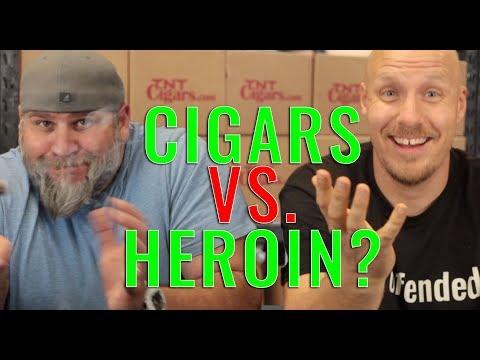 Cigars vs. Heroin... SERIOUSLY? (f. Mr. Brownstone Cigars)