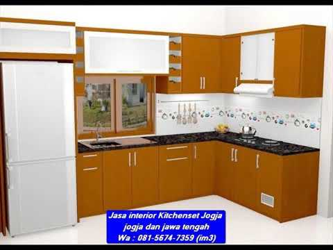 Wa 081 5674 7359 Im3 Jasa Kitchenset Jogja Interior Kitchen Set Dari Aluminium Kitchen Set Di Yogy