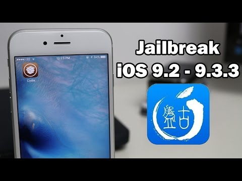 How to Jailbreak iOS 9.3.3 / 9.3.2 / 9.3.1 Using Pangu on iPhone, iPod touch or iPad