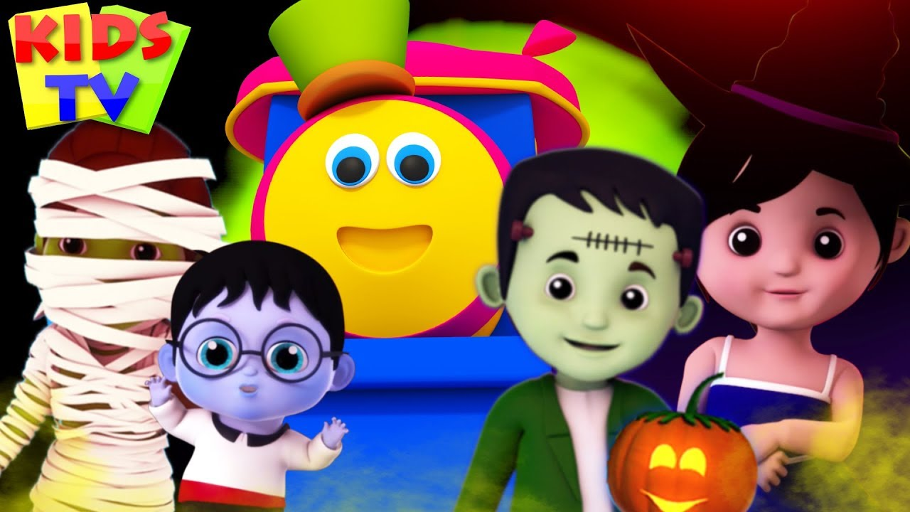 Halloween Finger Family | Stories for Kids & Halloween Music | Cartoon Shows
