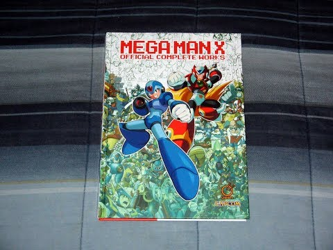 review:-mega-man-x-official-complete-works---hardcover-edition