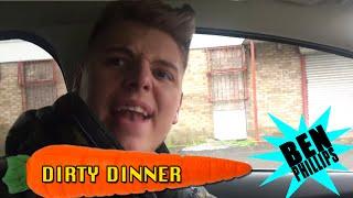 Ben Phillips   Dirty Dinner PRANK - I've got worms in my bum!!