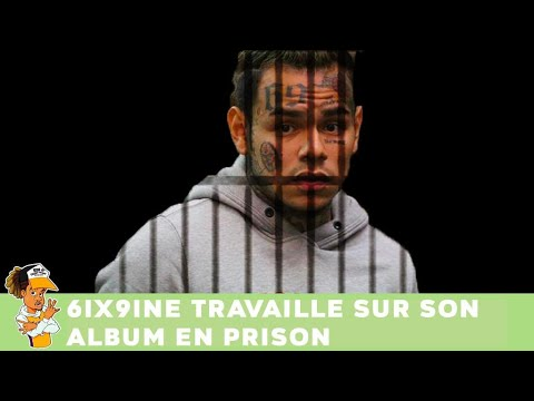 6ix9ine travaille sur son album en prison !!