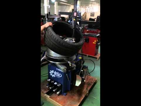 094H tire changer operation video NEW product
