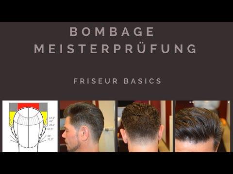 Bombage Fur Die Meisterprufung Im Friseurhandwerk Hwk Facon Herrenhaarschnitt Mannerhaarschnitt