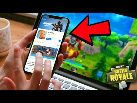 How To Download Fortnite Mobile + Fortnite Mobile Codes! (Fortnite Mobile Gameplay)