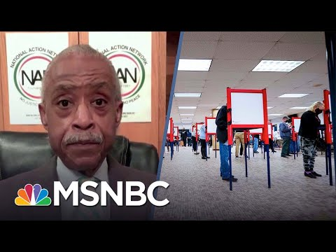 Sharpton Says Voting Rights Is 'Not Gonna Be A One-Sided Fight'