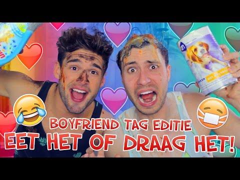 EET HET of DRAAG HET! Boyfriend Tag Editie | Rutger en Thomas