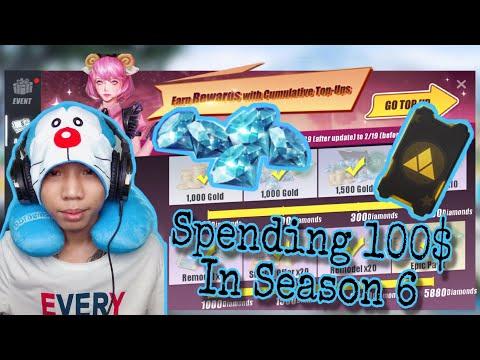 Spending 100$ Season