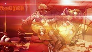 Крутой и мощный персонаж Кулак Смерти Overwatch
