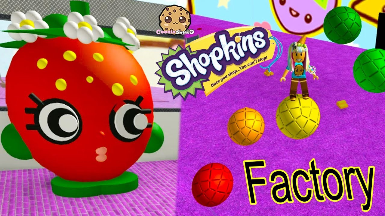Shopkins Factory Roblox Tycoon Game Cookie Swirl C Lets Play Video