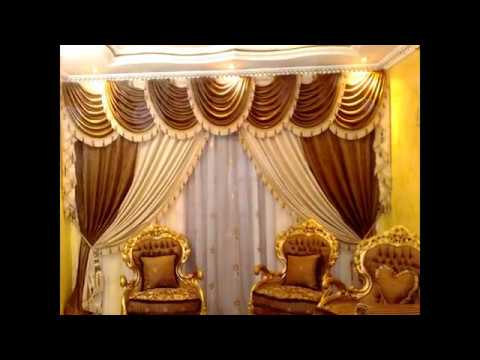 Beautiful Swag Curtains For Living Room - YouTube
