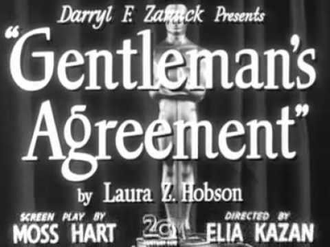 Gentleman's Agreement (1947) - Trailer