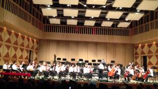Nathan - Debut of the violin Concert Master of the Fresno Youth Chamber Orchestra 2012