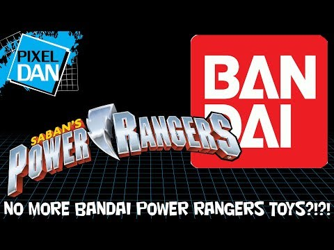 Bandai Loses Power Rangers Master Toy License - Early Breaking Toy Fair 2018 News