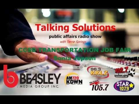 Talking Solutions - CCSD Transportation Job Fair