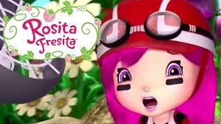 Repeat youtube video Rosita Fresita ★ LA GRAN CARRERA DE BERRY BITTY ★ Aventuras en Tutti Frutti | Video para niños