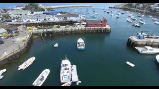 Phantom 3P Video of Rockport, MA Harbor and Motif Number 1