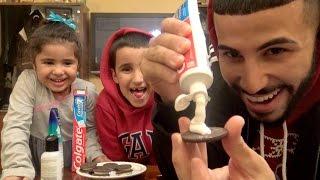 Toothpaste, Shampoo & FaceWash in Oreos Prank!!!